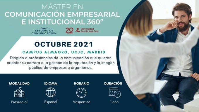 Máster en Comunicación Empresarial e Institucional 360º